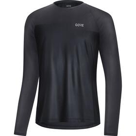 GORE WEAR Trail LS Shirt Men, black/terra grey